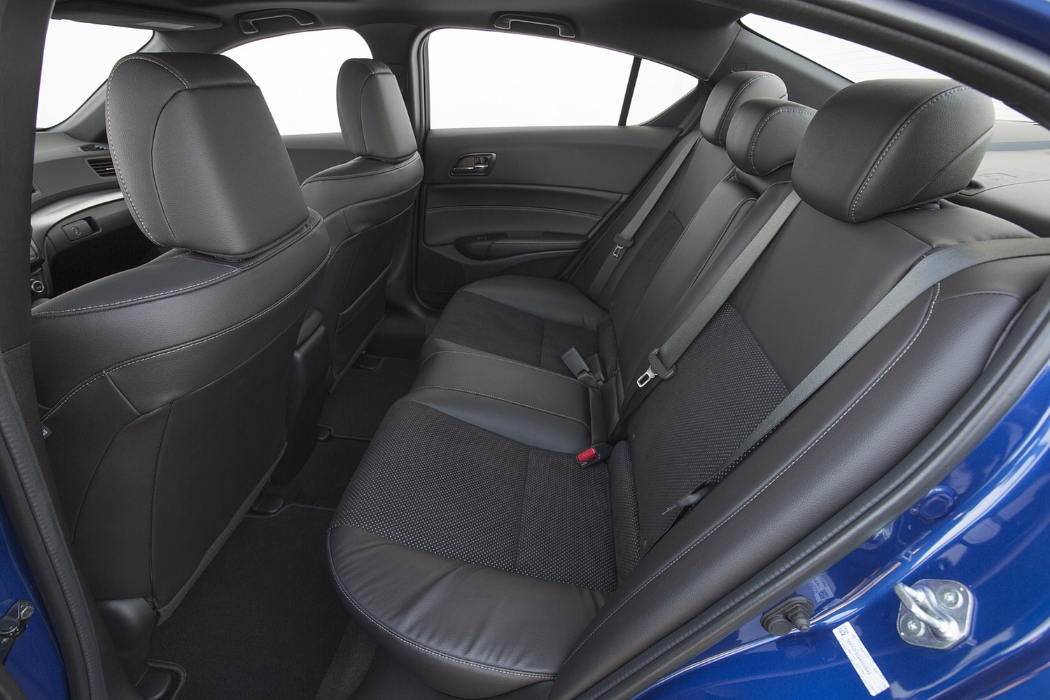 Acura ILX Technology Plus and A-SPEC Packages Sedan Rear Interior (2016 model year shown)