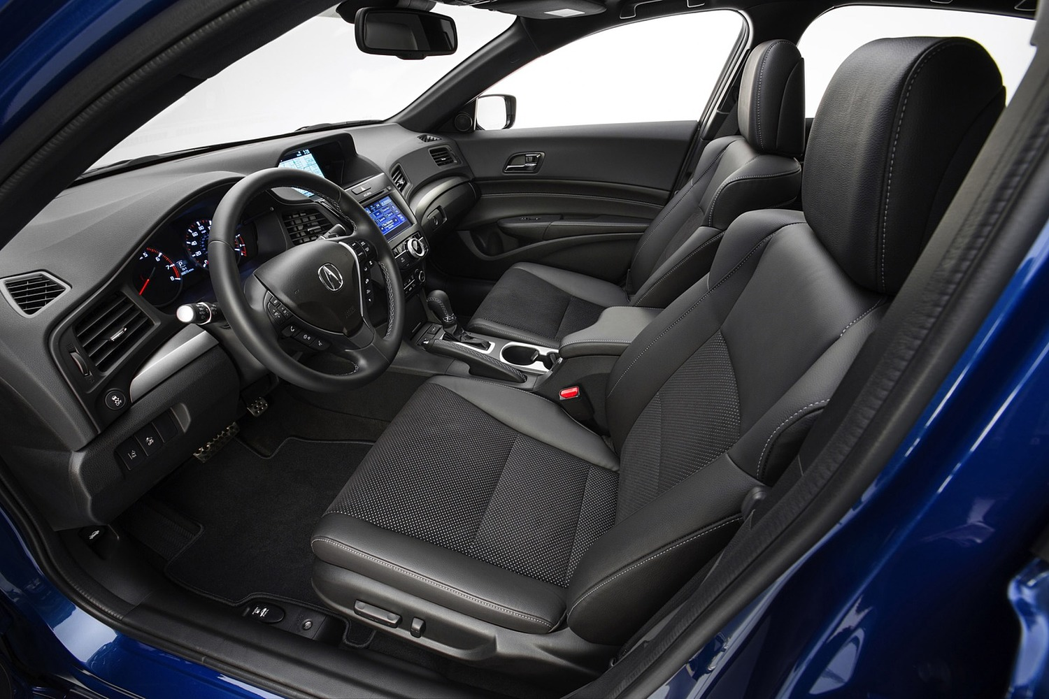 Acura ILX Technology Plus and A-SPEC Packages Sedan Interior (2016 model year shown)