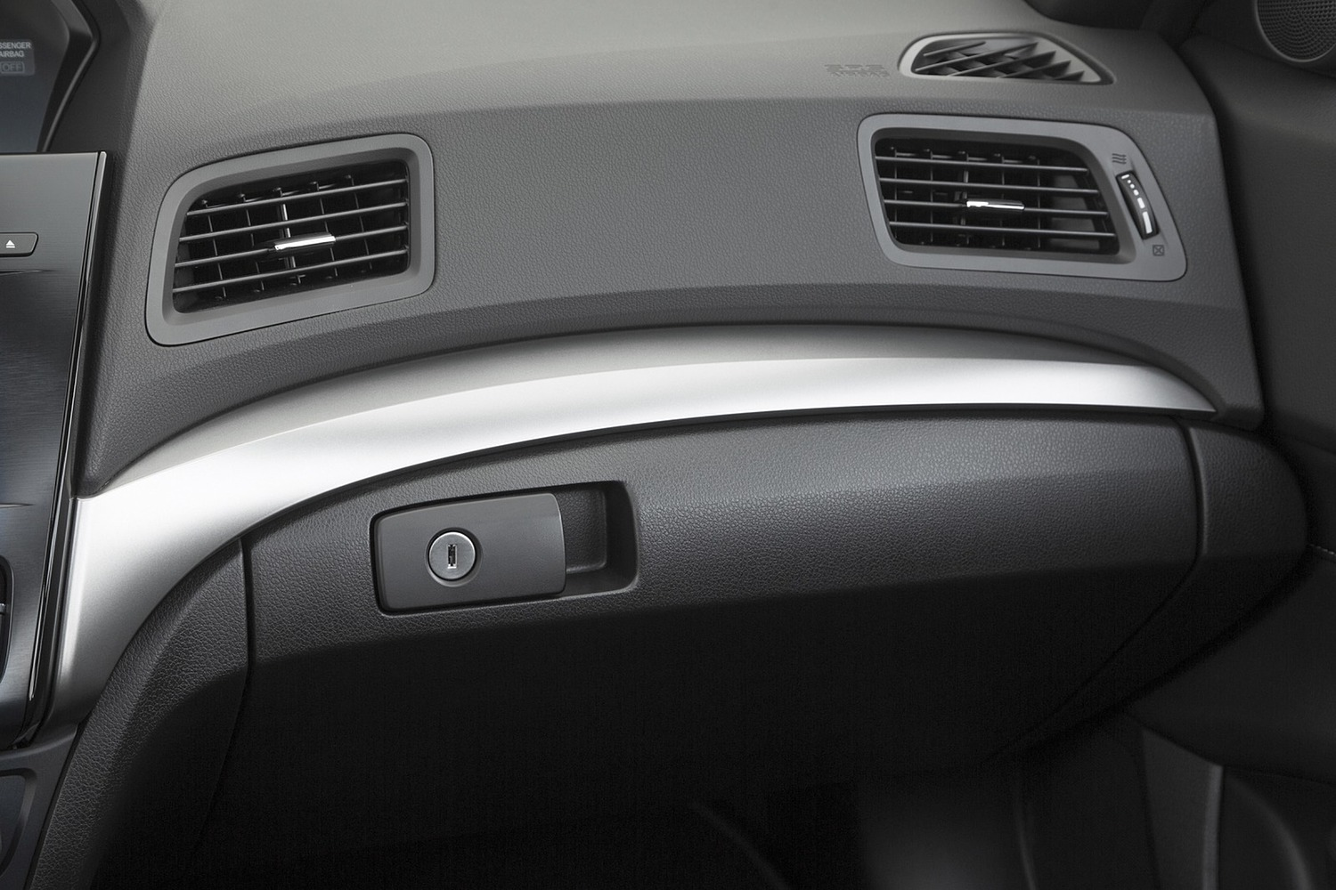 Acura ILX Technology Plus and A-SPEC Packages Sedan Interior Detail (2016 model year shown)