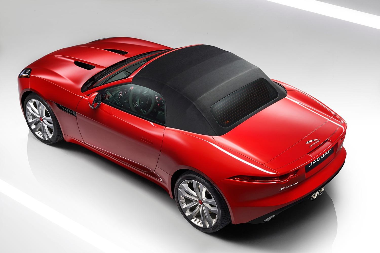2016 Jaguar F-TYPE S Convertible Exterior