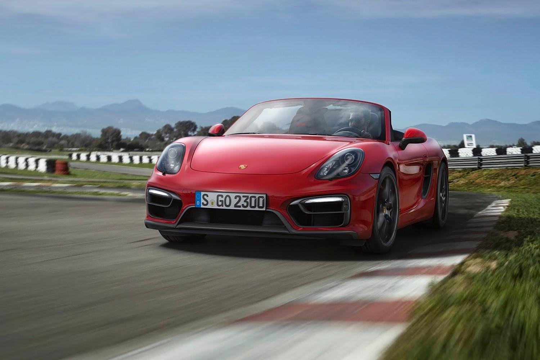 2016 Porsche Boxster GTS Convertible Exterior