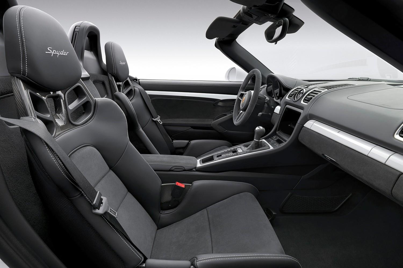 2016 Porsche Boxster Spyder Convertible Interior