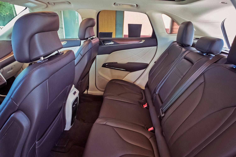 Lincoln MKC Select 4dr SUV Rear Interior (2016 model year shown)