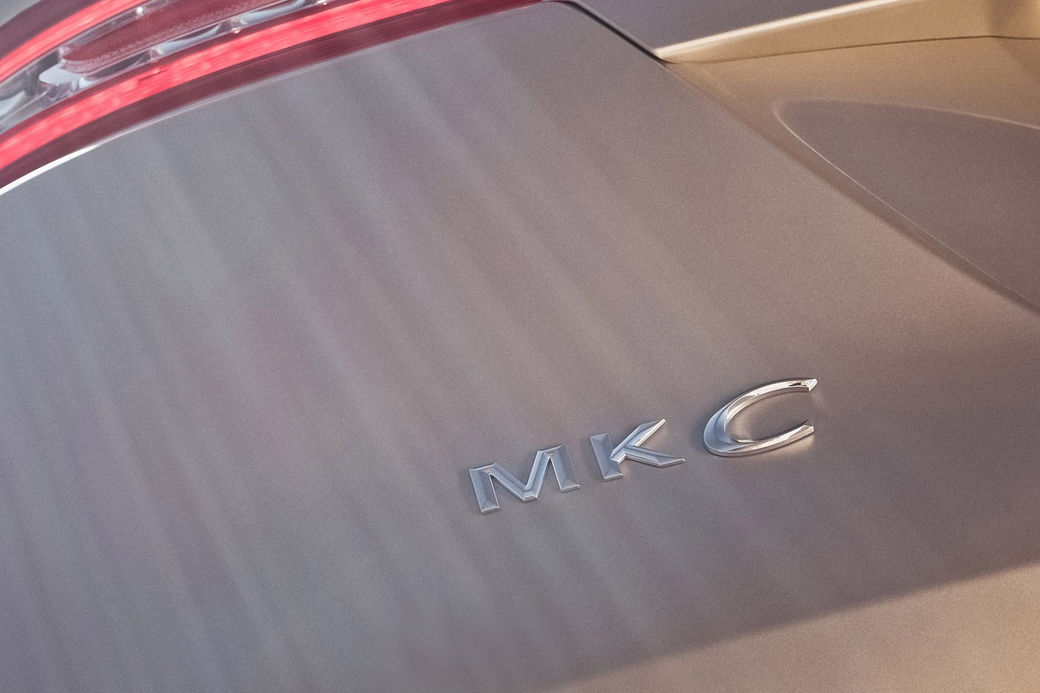 Lincoln MKC Select 4dr SUV Rear Badge (2016 model year shown)
