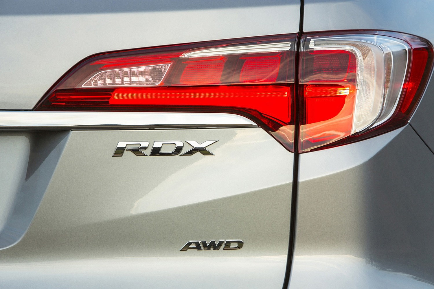 2016 Acura RDX Advance Package 4dr SUV Rear Badge