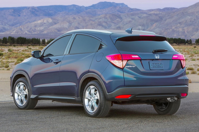 2016 Honda HR-V EX-L w/Navigation 4dr SUV Exterior