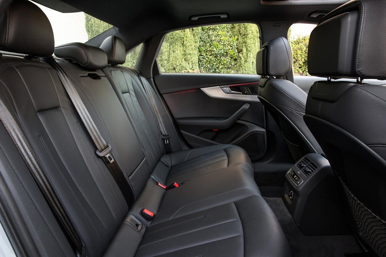 2017 Audi A4 2.0 TFSI Prestige quattro Sedan Rear Interior Shown