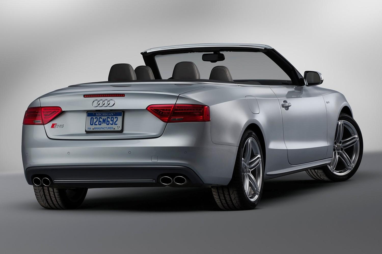 2016 Audi S5 Prestige quattro Convertible Rear Shown