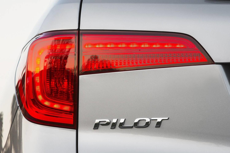 Honda Pilot Elite 4dr SUV Rear Badge (2016 model year shown)