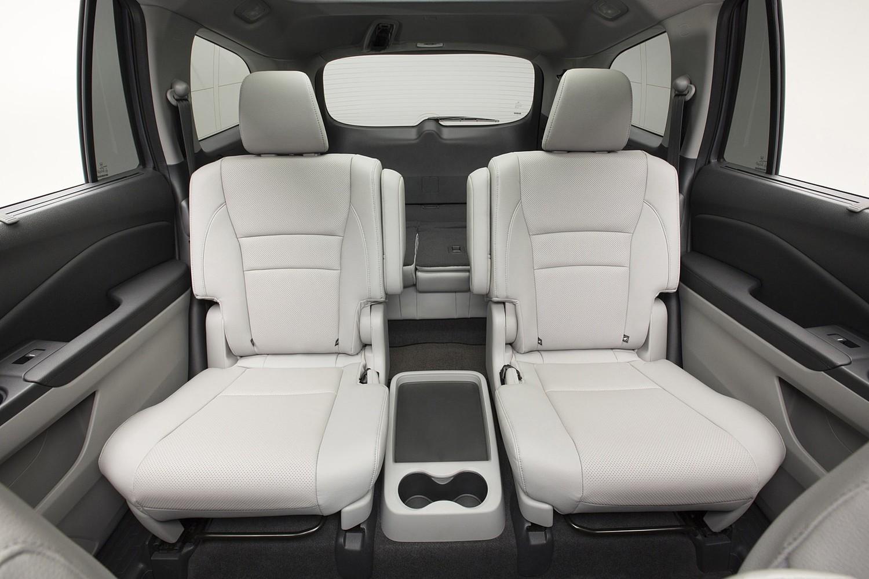 Honda Pilot Elite 4dr SUV Rear Interior (2016 model year shown)