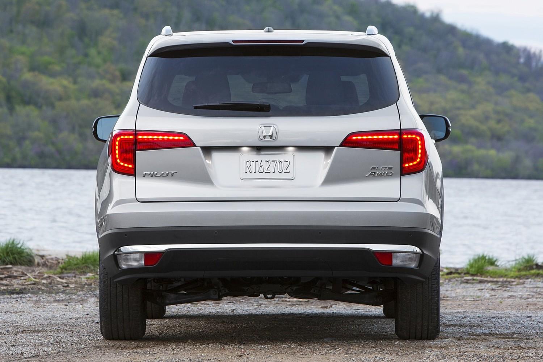 2016 Honda Pilot Elite 4dr SUV Rear Shown