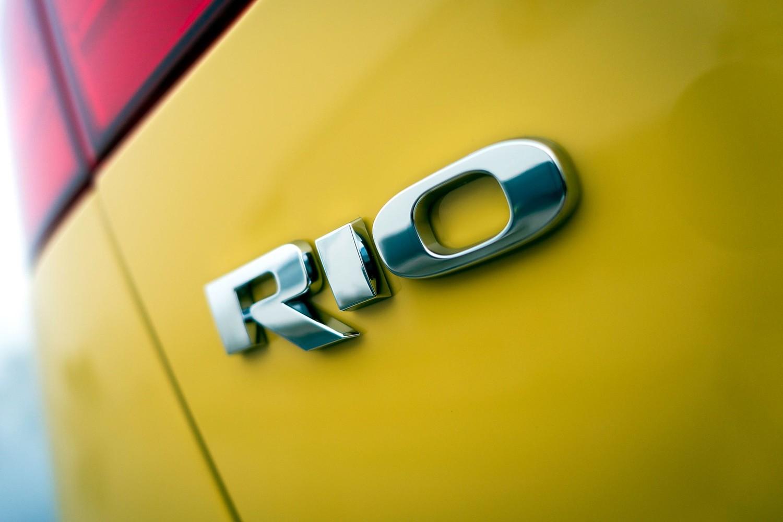 Kia Rio SX 4dr Hatchback Rear Badge Shown (2016 model year shown)