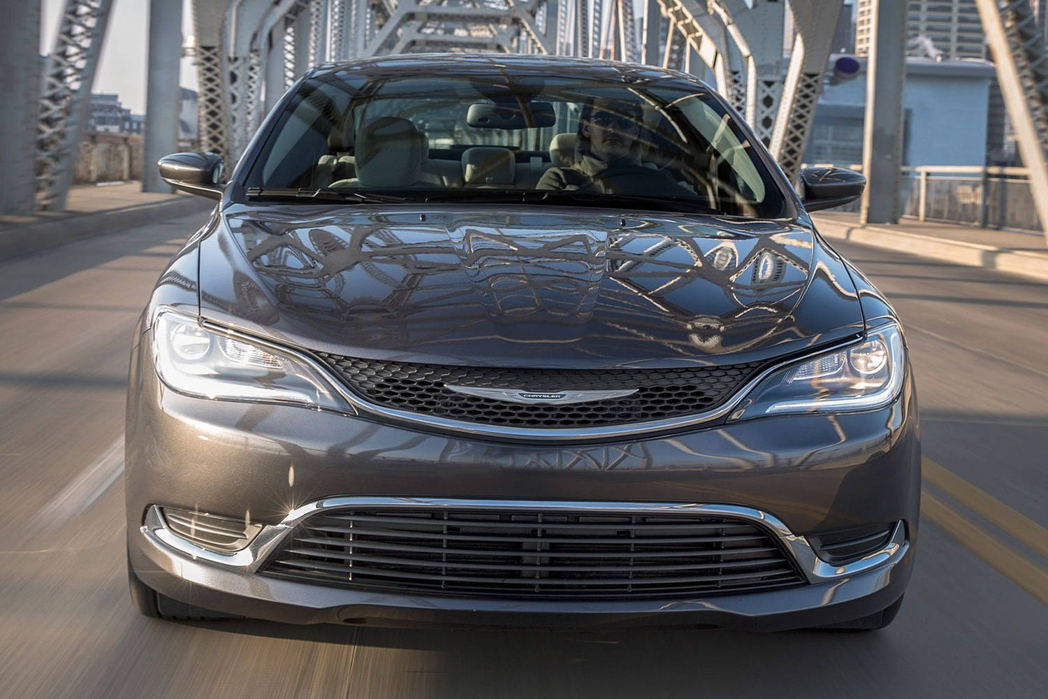 2016 Chrysler 200 Limited Sedan Exterior Shown