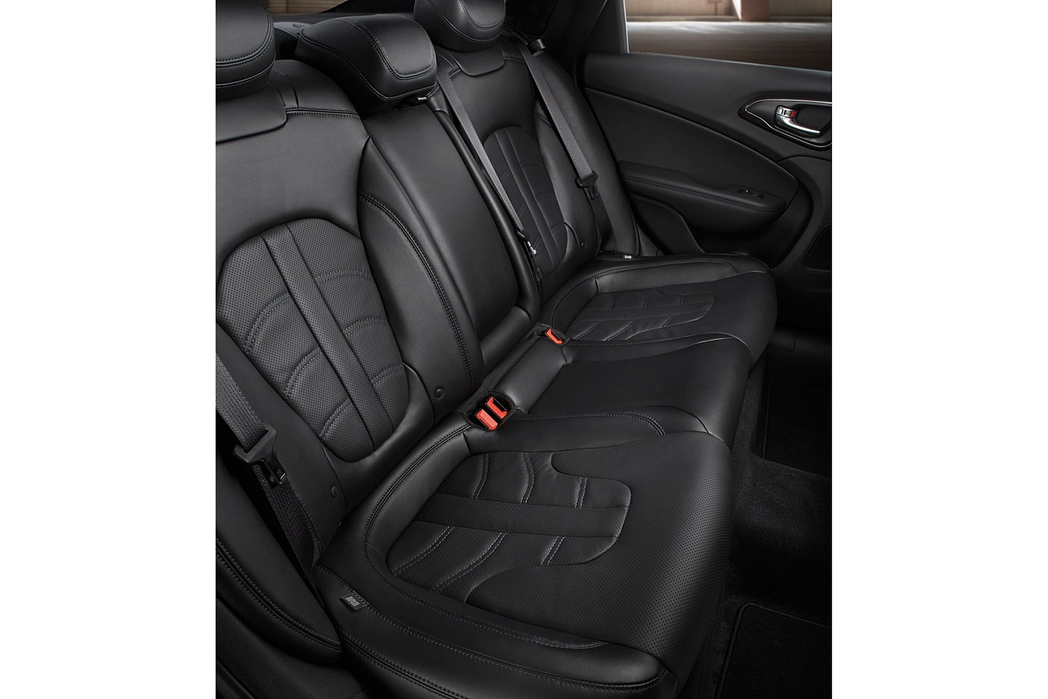 2016 Chrysler 200 S Sedan Rear Interior