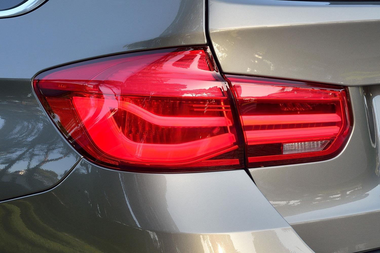 BMW 3 Series 328d xDrive Wagon Exterior Detail. Euro Model Shown. (2016 model year shown)