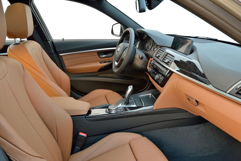 BMW 3 Series 328d xDrive Wagon Interior. Euro Model Shown. (2016 model year shown)