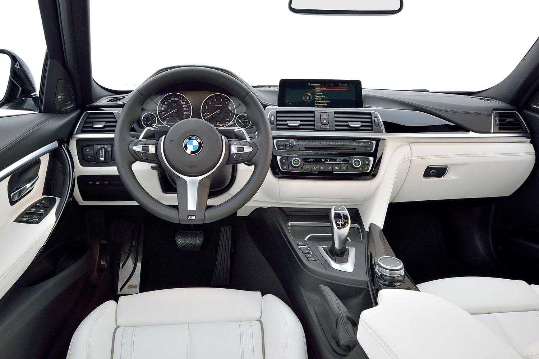 BMW 3 Series 340i Sedan Dashboard. M Sport Package Shown. (2016 model year shown)