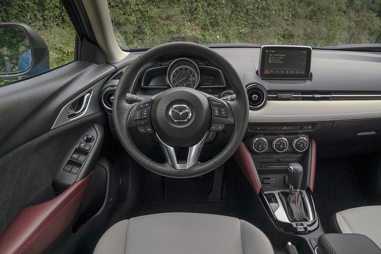 2016 Mazda CX-3 Grand Touring 4dr SUV Steering Wheel Detail