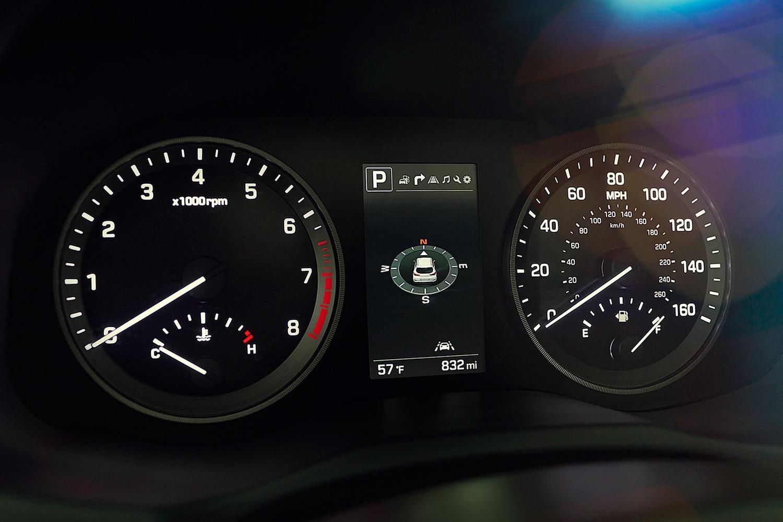 2016 Hyundai Tucson Limited 4dr SUV Gauge Cluster