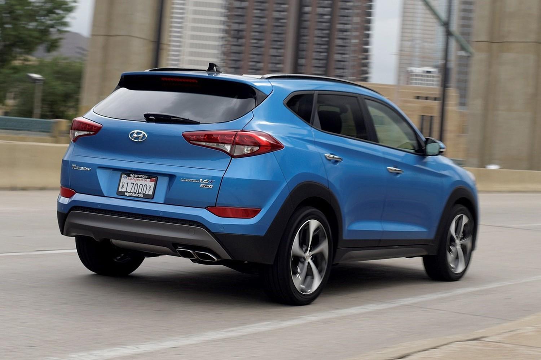 2016 Hyundai Tucson Limited 4dr SUV Exterior