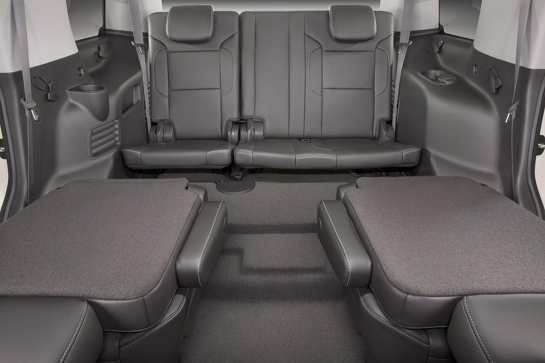 2016 Chevrolet Tahoe LTZ 4dr SUV Rear Interior