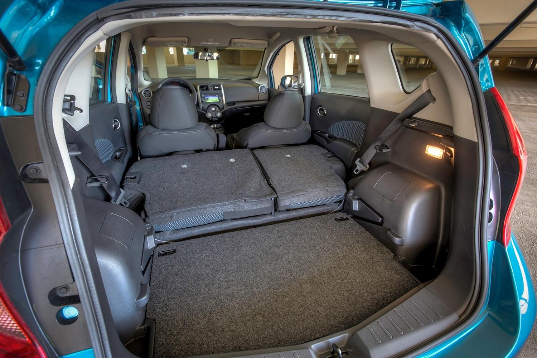 2016 Nissan Versa Note 1.6 SL 4dr Hatchback Cargo Area