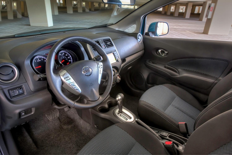 2016 Nissan Versa Note 1.6 SL 4dr Hatchback Interior Shown