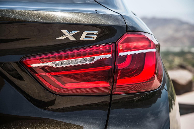 2016 BMW X6 xDrive50i 4dr SUV Rear Badge