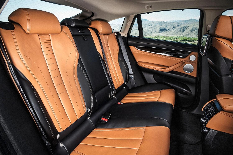 2016 BMW X6 xDrive50i 4dr SUV Rear Interior
