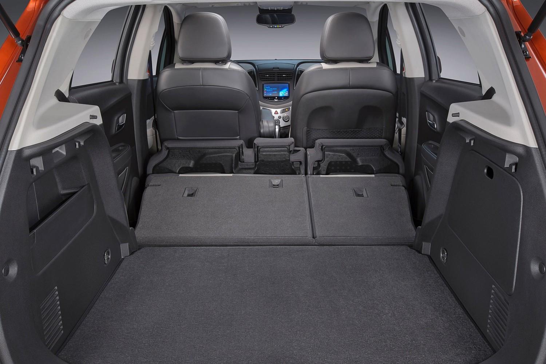 2016 Chevrolet Trax LTZ 4dr SUV Cargo Area Shown