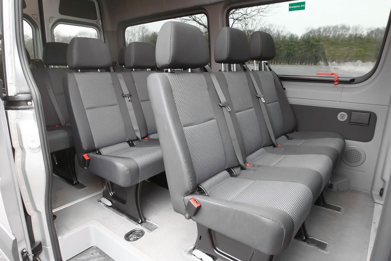 2016 Mercedes-Benz Sprinter 2500 144 WB Passenger Passenger Van Rear Interior