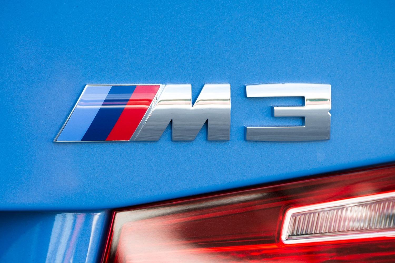 2016 BMW M3 Sedan Rear Badge
