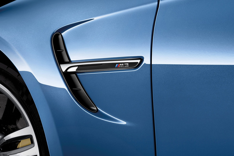 2016 BMW M3 Sedan Fender Badge