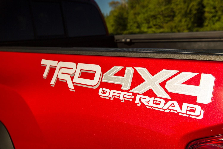 2016 Toyota Tacoma TRD Off Road Crew Cab Pickup Rear Badge