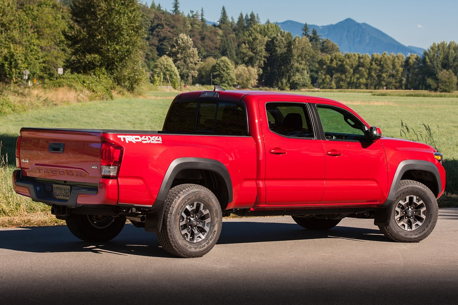 2016 Toyota Tacoma TRD Off Road Crew Cab Pickup Exterior Shown