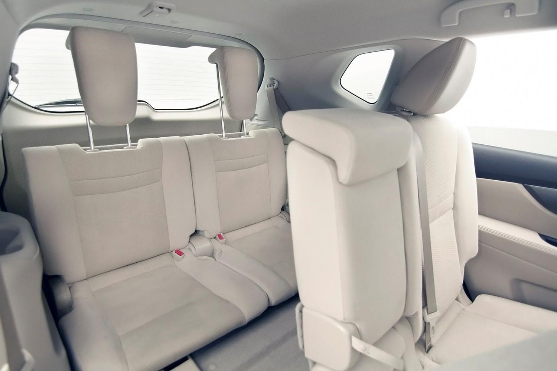 2016 Nissan Rogue SL 4dr SUV Rear Interior