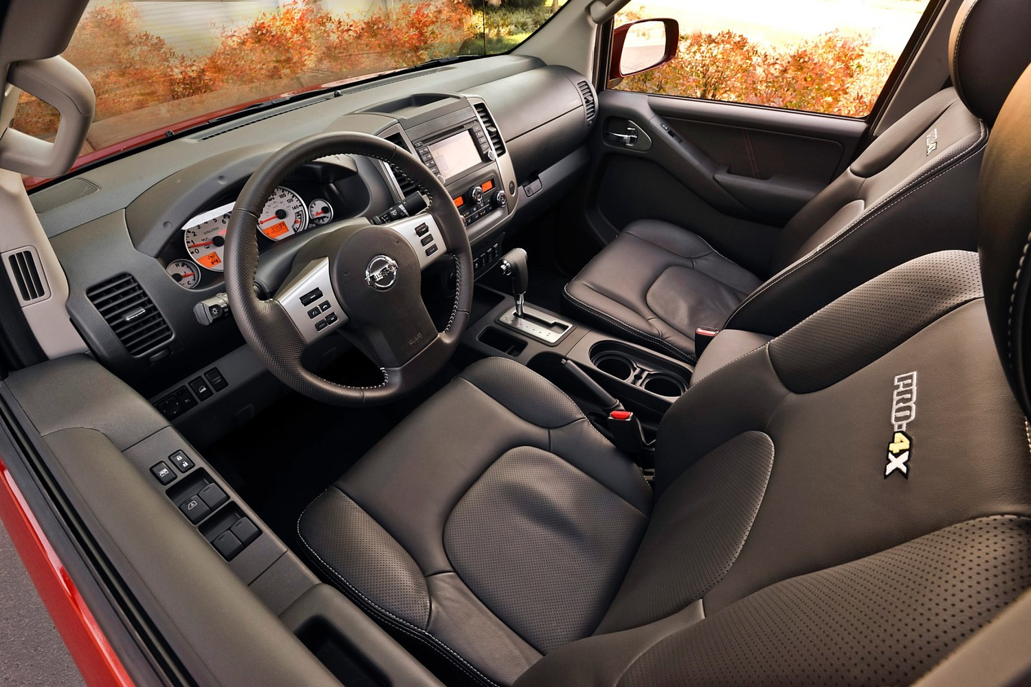 2016 Nissan Frontier PRO-4X Crew Cab Pickup Interior Shown