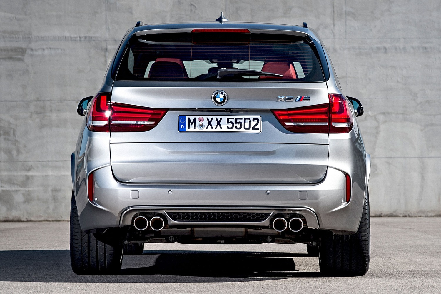 BMW X5 M 4dr SUV Exterior (2016 model year shown)