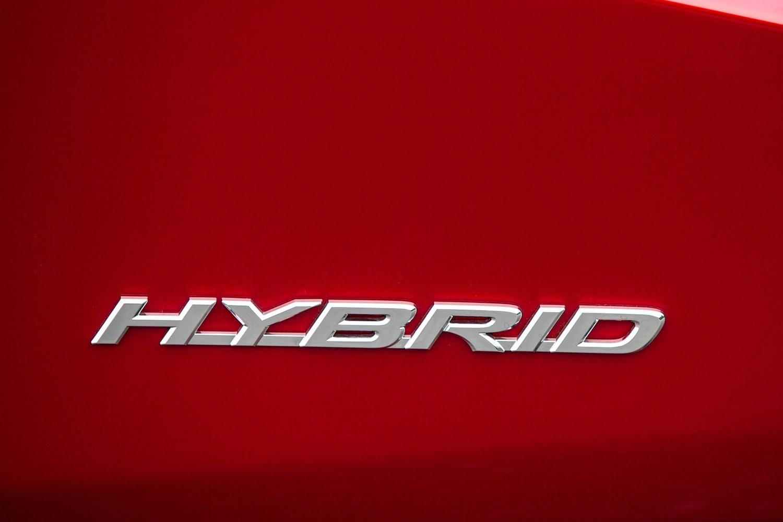 Lexus RX 450h 4dr SUV Rear Badge (2016 model year shown)