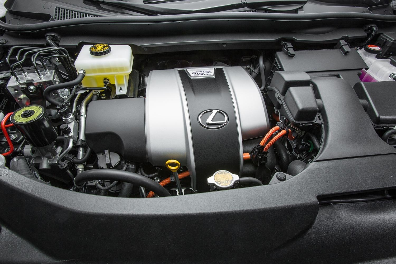 Lexus RX 450h 4dr SUV 3.5L V6 Gas/Electric Engine (2016 model year shown)
