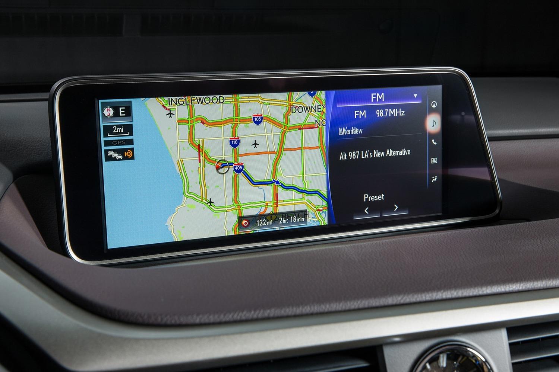Lexus RX 450h 4dr SUV Navigation System (2016 model year shown)