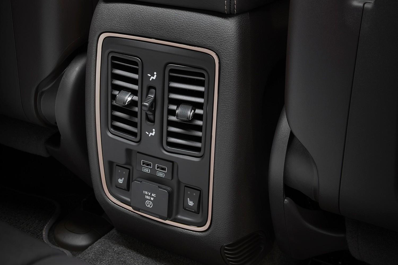 2016 Jeep Grand Cherokee Summit 4dr SUV Interior Detail
