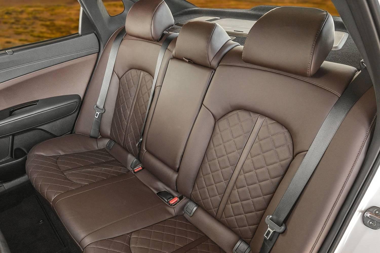 2016 Kia Optima SXL Turbo Sedan Rear Interior