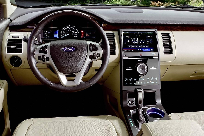 Ford Flex Limited Wagon Interior (2016 model year shown)