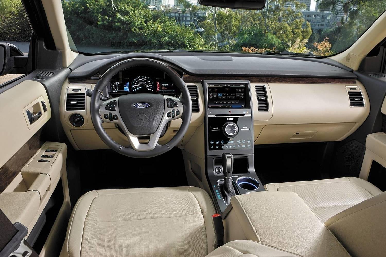 Ford Flex Limited Wagon Dashboard (2016 model year shown)