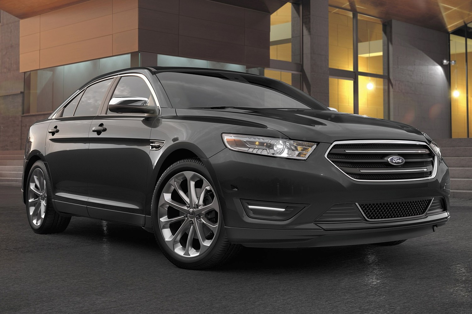 2016 ford taurus limited sedan exterior