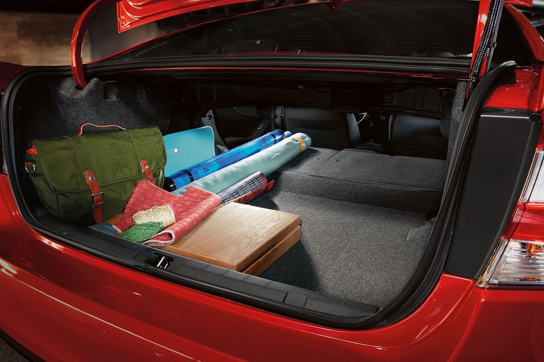 Subaru Impreza 2.0i Sport Sedan Cargo Area (2017 model year shown)