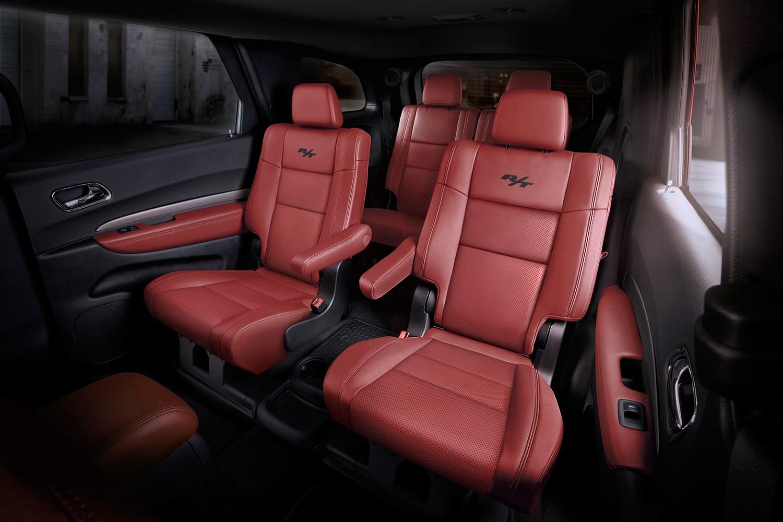 Dodge Durango R/T 4dr SUV Rear Interior (2016 model year shown)