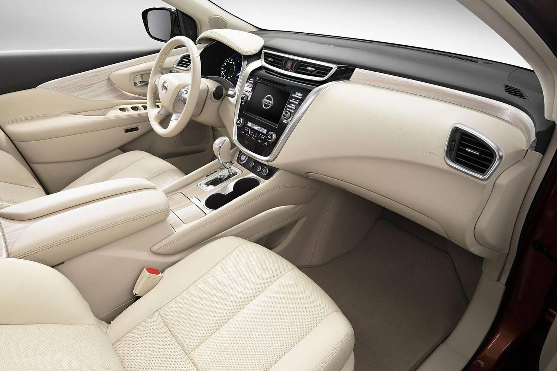 Nissan Murano Platinum 4dr SUV Interior (2016 model year shown)