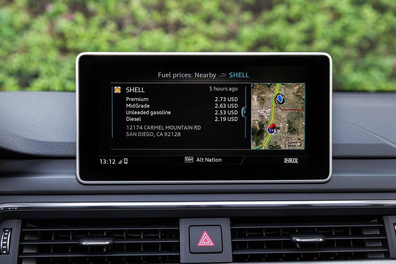 2017 Audi A4 2.0 TFSI Prestige quattro Sedan Center Console